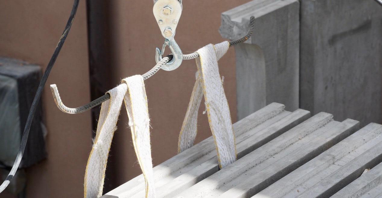 Trisse med balustrade element i beton stukkatør Jacobsen-Friis